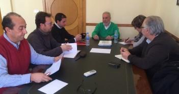 Reunión entre Ayuntamiento y colegios