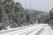 Puerto de Miravete nevado