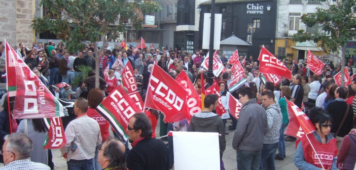 Protesta tras reforma laboral
