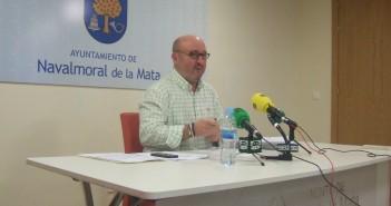 Pepe Pascual en acto informativo