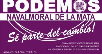 Cartel de asamblea de Podemos