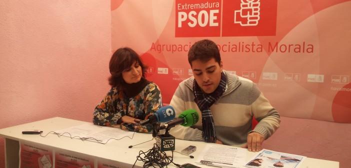 Rueda de prensa del PSOE
