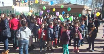 Alumnos del colegio Campo Arañuelo