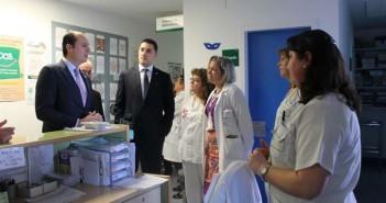 El consejero visita el Hospital de Navalmoral
