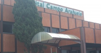 Fachada del Hospital de Navalmoral