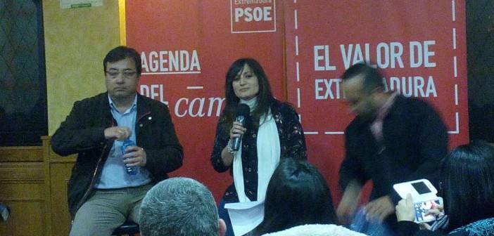 Raquel Medina con Vara y Morales