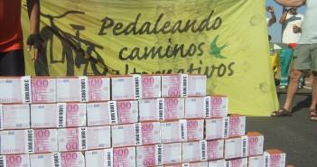 Protesta en la Isla de Valdecañas