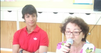Oliver Torres en colegio