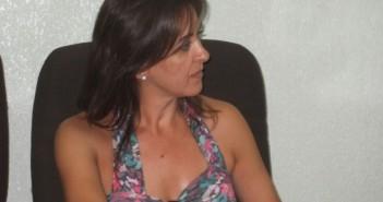 La alcaldesa de Almaraz