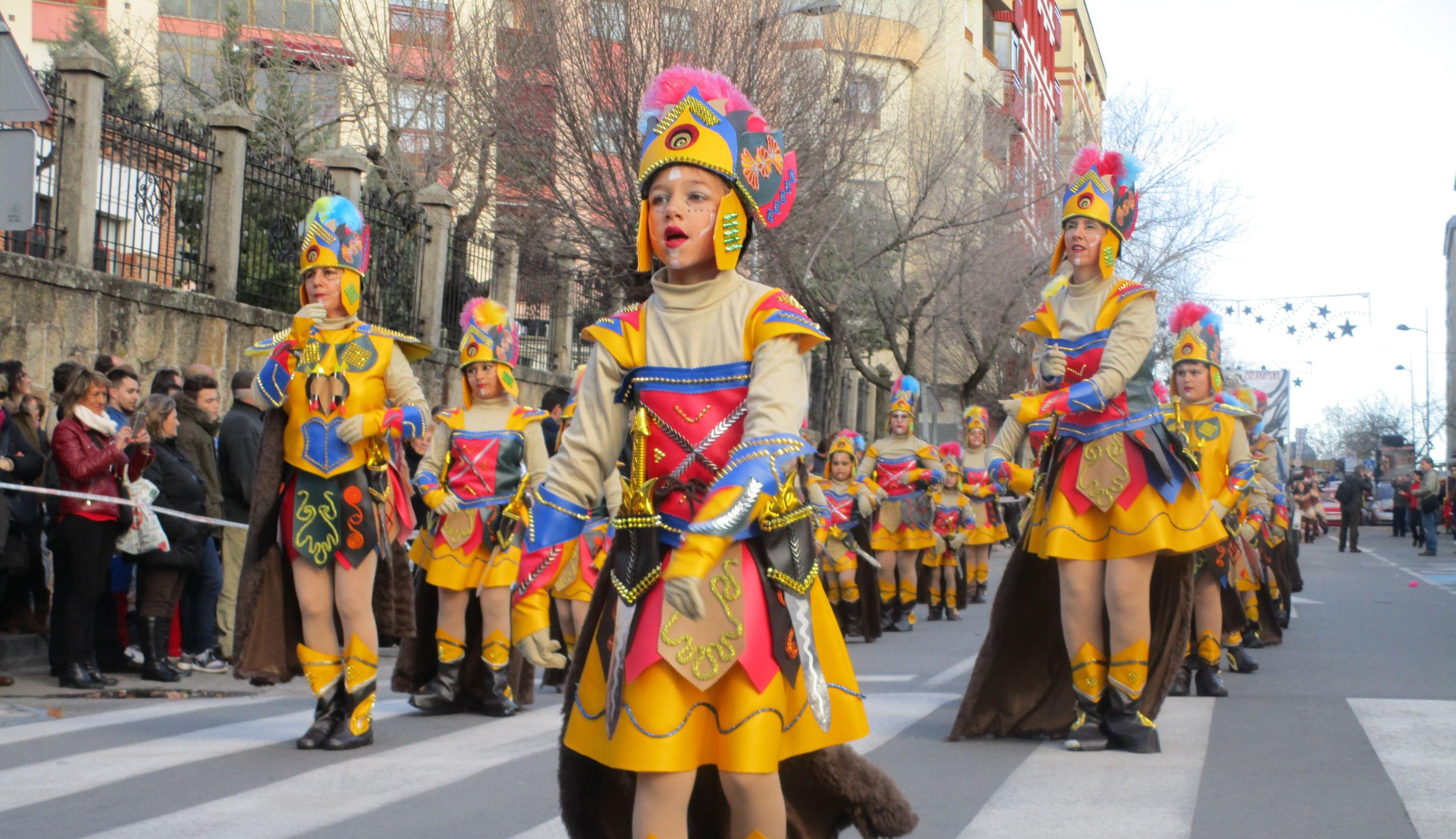Galer a fotogr fica i comparsas del desfile de carnaval - Navalmoral de la sierra ...