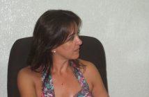 La alcaldesa de Almaraz, Sabina Hernández.