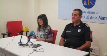 Medina y Marcos, en rueda de prensa.