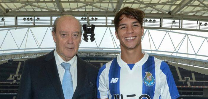 El moralo Óliver Torres muestra su satisfacción por regresar a las filas del Oporto