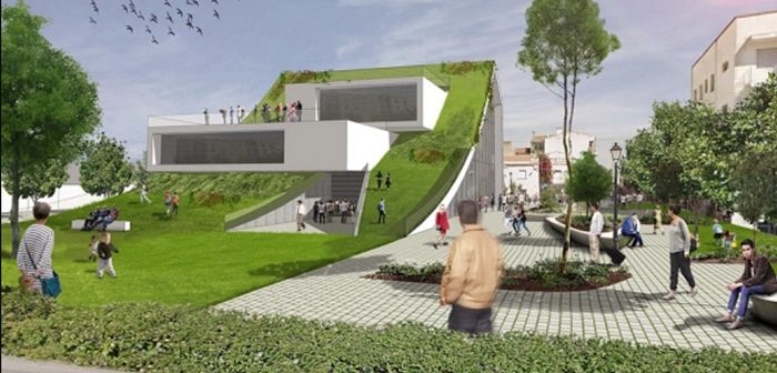 Del Centro Cultural La Gota a un espectacular centro cultural en Coria