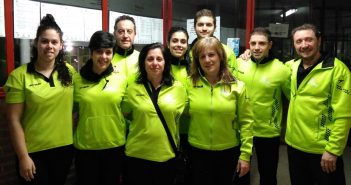 La nadadora del CN Moralo Marta Marcos bate el récord regional de 50 espalda