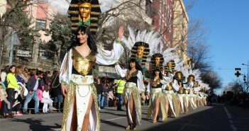 Los desfiles del Carnaval congregaron a 4.600 participantes y 34.000 espectadores