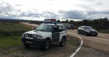 Imagen de una patrulla de Tráfico