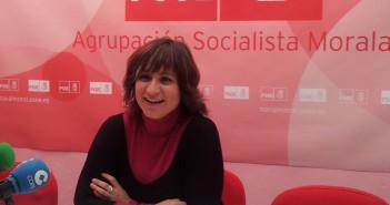 Raquel Medina en rueda de prensa