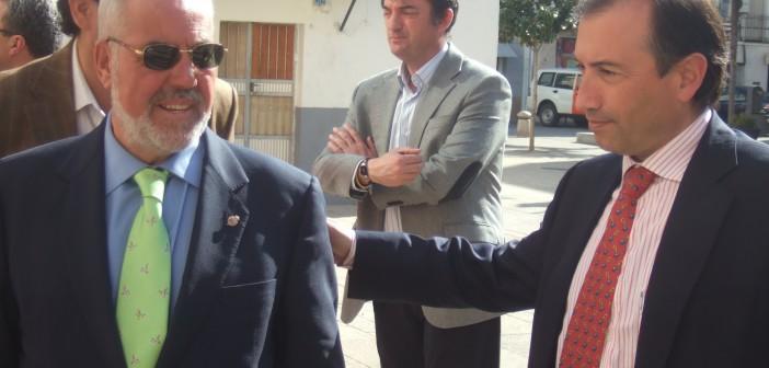 Mateos y León, vicepresidente y presidente de la Diputación
