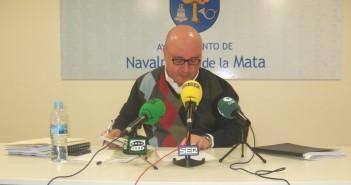 Pepe Pascual en rueda de prensa