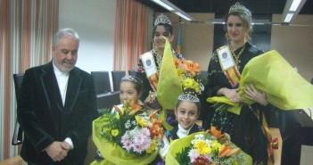 Alcalde y Reinas