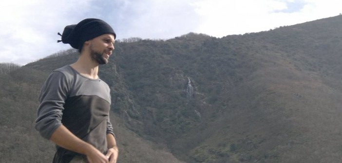 Álvaro Jaén en la montaña