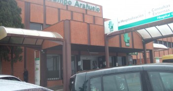 Fachada Hospital Campo Arañuelo