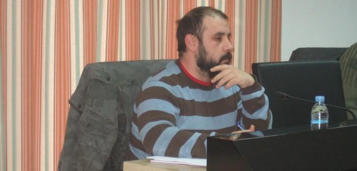 Héctor Izquierdo en Pleno