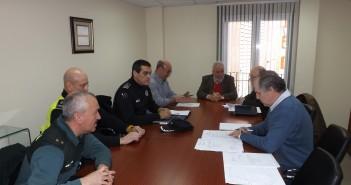 Reunión de la Junta Local de Seguridad de Navalmoral de la Mata