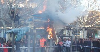 Sardina ardiendo