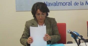 Isabel Noblejas con Ventura