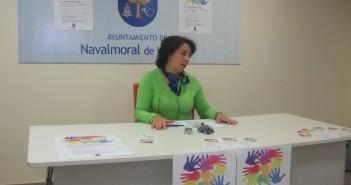 Isabel Noblejas en rueda de prensa
