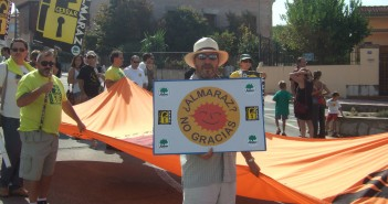 Protesta antinuclear