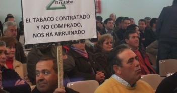Protesta tabaquera en Talayuela