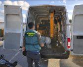 La Guardia Civil de Navalmoral recupera una retroexcavadora robada