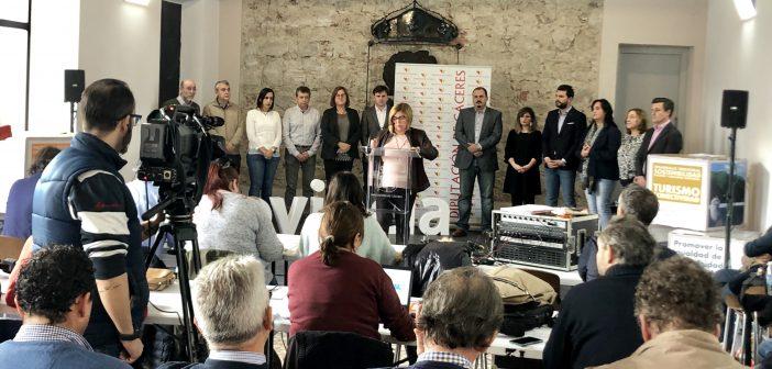Rosario Cordero presenta los Presupuestos de la Diputación en Navalmoral